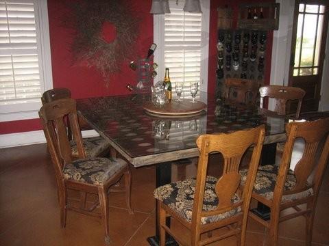 Riddling Rack Dining Table
